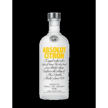 Absolut Vodka  Citron Cl 100