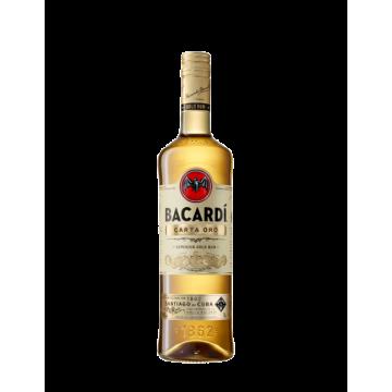 Bacardi Rum Carta Oro Cl 100