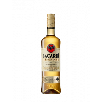 Bacardi - Rum Carta Oro Cl 100